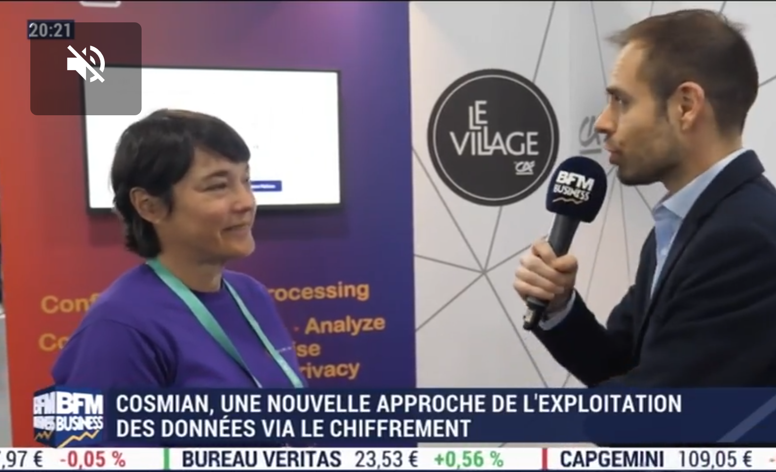 BFM Business Tech & Co (Sébastien Couasnon) – Live @CES 2020
